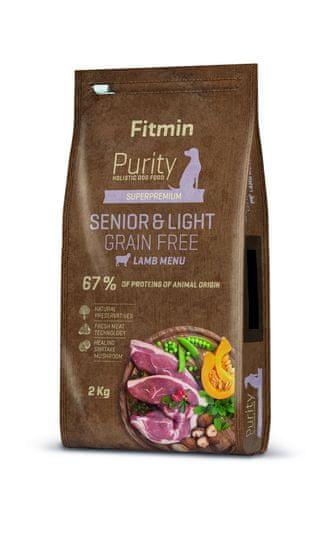 Fitmin Dog Purity GF Senior & Light Lamb 2 kg
