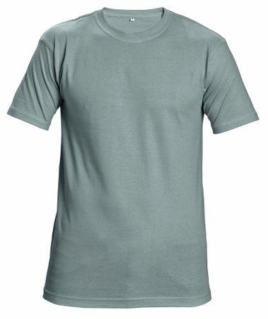 99274680f375 Červa Bavlnené tričko s krátkym rukávom Garai sivá XL