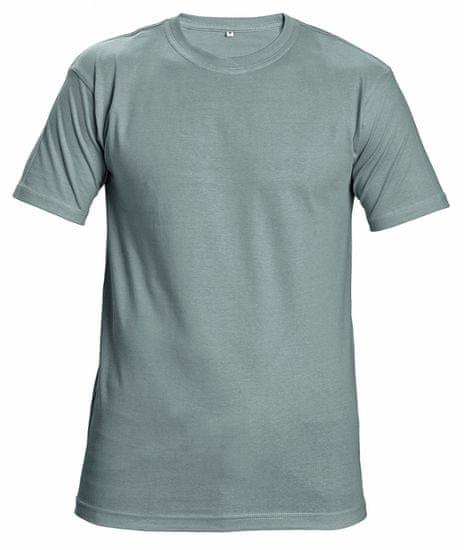 Cerva Bavlnené tričko s krátkym rukávom Garai sivá L