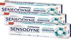 Sensodyne Complete Protection Extra Fresh zobna pasta, 75 ml, 3 kosi