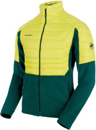295a818ddd Mammut Innominata Ml Hybrid Jacket Men férfi kabát Dark Teal-Canary ...