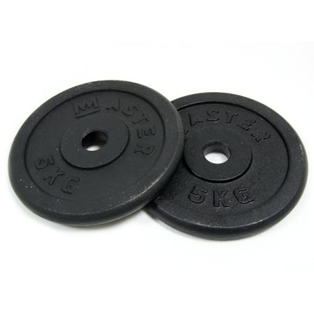 Master kotúč 5 kg kov (pár)