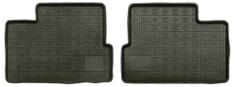 POLGUM Gumové koberce, zadné, 2 ks, čierne, rozmer: 39 x 51,5 cm, pre vozidlá typu BMW, Daewoo, Daihatsu, Ford, Honda, Hyundai, Lada, Mazda, Nissan, Opel, Toyota a ďalšie