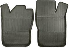 POLGUM Gumové koberce, predné, 2 ks, čierné, pre vozidlá typu Citroen, Daewoo, Fiat, Opel, Peugeot, Volvo a ďalšie