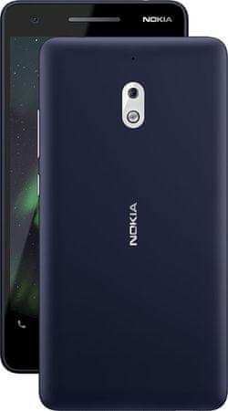 Nokia 2.1, Single SIM, Blue/Silver