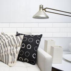 Crearreda stenske dekorativne mehke plošče, beli zidaki (54717)