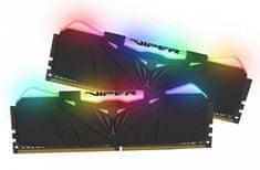 Patriot radna memorija (RAM) Viper RGB 16GB (2x8GB) DDR4, 3000MHz, CL15, crna (PATME-16GB_DDR4_30RG)