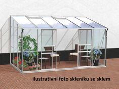 VITAVIA skleník VITAVIA IDA 7800 PC 4 mm strieborný