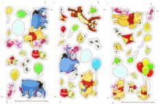 Graham & Brown stenske dekorativne nalepke, Winni The Pooh, male, 3 kosi
