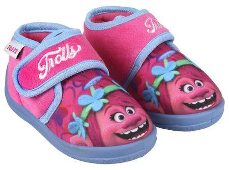 Disney dívčí bačkůrky Trollové 23 ružová