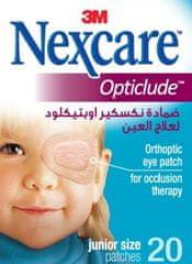 Nexcare otroški očesni obliži Opticlude Junior, 6 x 5 cm, 20 kosov