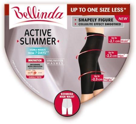 Bellinda ACTIVE SLIMMER HIGH WAIST BERMUDA černá L
