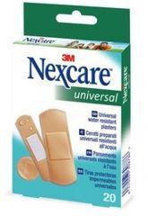 Nexcare obliži Universal različni, vodoodporni, 20 kosov