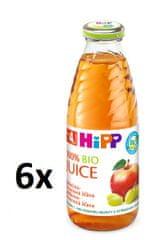 HiPP BIO Jablečno-hroznová šťáva - 6x0,5l