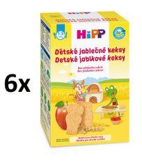 HiPP BIO Dětské jablečné keksy 6x150g