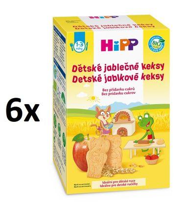 HiPP Dětské jablečné keksy 150 g, 6x