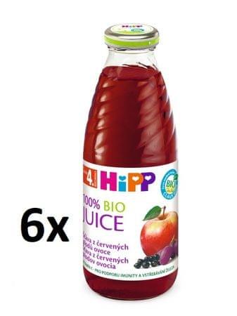 HiPP Šťáva z červených plodů - 6x0,5l