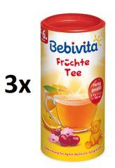 Bebivita Ovocný čaj-instantní, 3 × 200g