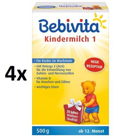Bebivita JUNIOR 1+ - 4 x 500g