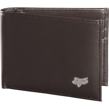 FOX portfel męski Bifold Leather, brązowy