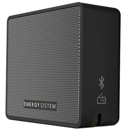 Energy Sistem Music Box 1+ prenosni brezžični zvočnik, temno siv