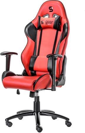 SilentiumPC krzesło Gear SR300 RD (SPG002)
