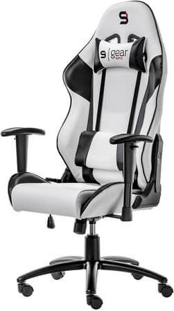 SilentiumPC krzesło Gear SR300 WH (SPG003)