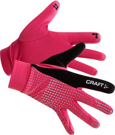 Craft rokavice Brilliant 2.0 Thermal, roza, L