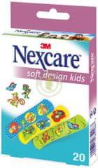 Nexcare obliži Soft Kids, 20 kosov