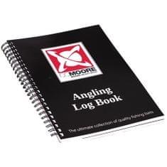 Cc Moore CC More Rybářský Deník Angling Book