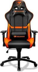 Cougar krzesło gamingowe Armor, czarny/pomarańczowe (3MGC1NXB.0001)