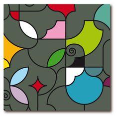 REMEMBER® Obraz Fifty50 Garden, 50x50 cm