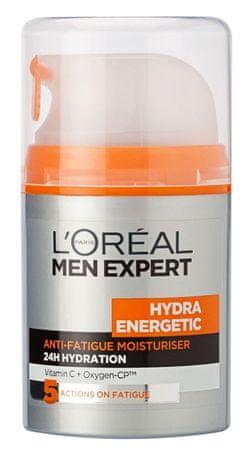 L'Oréal vlažilna krema Men Expert Hydra Enegetic, proti utrujeni koži, 50 ml
