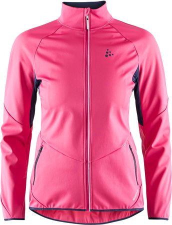 Craft Kabát Glide rózsaszín XS