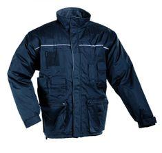 Cerva Zimná pracovná bunda 2v1 Libra pánska modrá XXXL