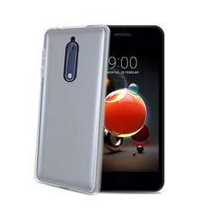 Fixed CELLY Gelskin TPU telefontok Nokia 5.1/Nokia 5 - re (2018), színtelen GELSKIN765