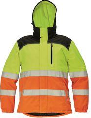Cerva Pánská nepromokavá zimní reflexní bunda Knoxfield Hi-Vis