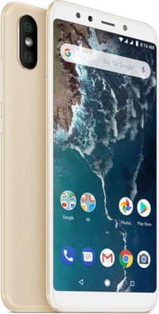 Xiaomi GSM telefon Mi A2 4/64GB, zlatni