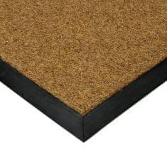 FLOMA Textilní kokosová plastová zátěžová čistící venkovní vnitřní vstupní rohož Synthetic Coco - 1 cm