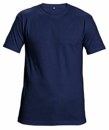 e69ec8a4fc0f Červa Bavlnené tričko s krátkym rukávom Garai navy M