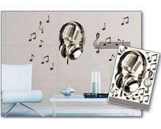 Dimex Dekoračné nálepky na stenu Noty - 50 x 70 cm