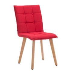BHM Germany Jídelní židle Miriam textil, přírodní