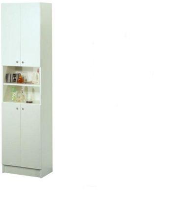 LUNA, skříňka vysoká LU04, bílá