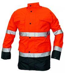 Cerva Zimná bunda Malabar 2v1 reflexná pánska oranžová XXL
