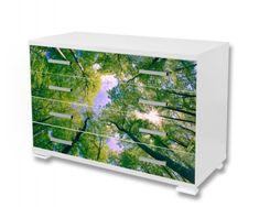 Dimex Nálepky na nábytok - Stromy, 85 x 125 cm