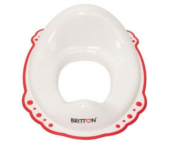 BRITTON sedátko na WC s protiskluzovým okrajem, bílá