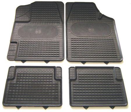 POLGUM Gumové koberce, univerzální, rozměry 69,5 x 49 a 34,5 x 44 cm