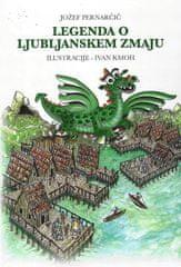 Jožef Pernarčič: Legenda o ljubljanskem zmaju