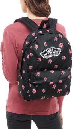 1450de782e Vans Realm Backpack Black Rose