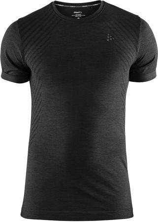Craft moška športna majica Triko Fuseknit Comfort SS, S, črna